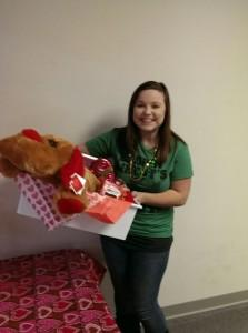 Congratulations to our Valentine's Winner