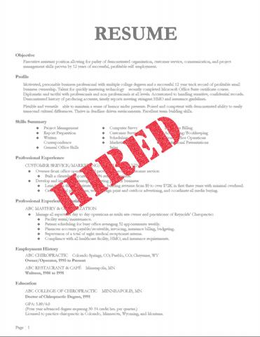 Ways to Build a Winning Resume