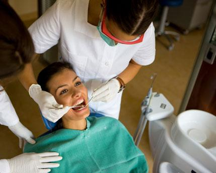 Dental assistant graduates are trained in the following tasks: