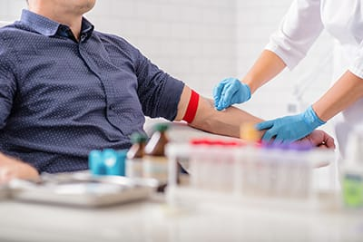 Does the thought of working with or seeing a patient's bodily fluids (blood, saliva, etc.) bother you?